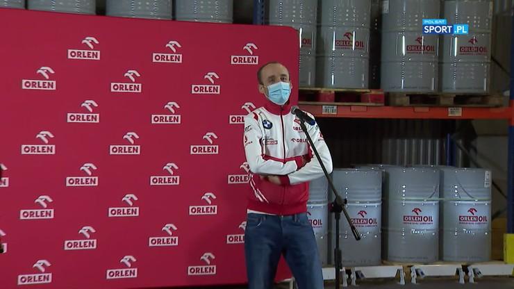 Robert Kubica: Takiej adrenaliny jak w Formule 1 nie ma nigdzie