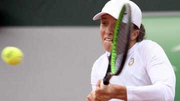 French Open: Iga Świątek w kolejnej rundzie po kreczu rywalek