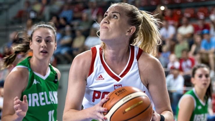 Polskie koszykarki po raz drugi lepsze od Irlandii