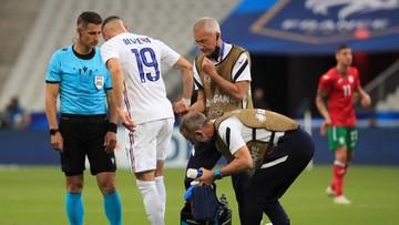 Euro 2020: Francja pokonała Bułgarię. Kontuzja Karima Benzemy