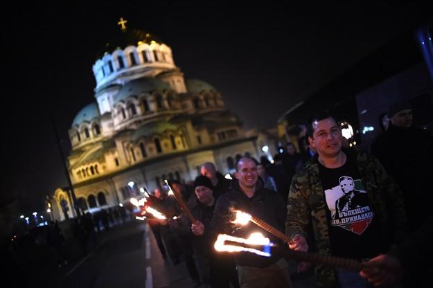 Marsz profaszystowski w Bukareszcie