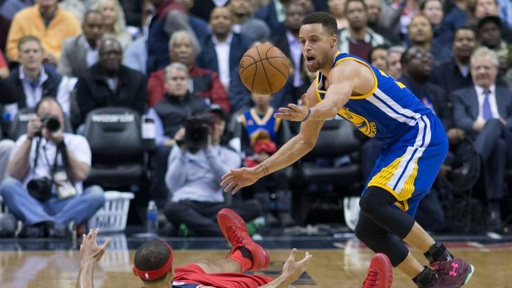 Curry najlepszym koszykarzem NBA. Po raz drugi z rzędu