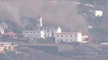 Lawa pochłonęła kościół. Zakaz opuszczania domów, większa aktywność wulkanu