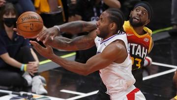 NBA: Utah Jazz lepsi od Los Angeles Clippers w pierwszym meczu półfinału