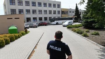 Trzy zarzuty, trzy miesiące aresztu dla sprawcy ataku na szkołę w Brześciu Kujawskim