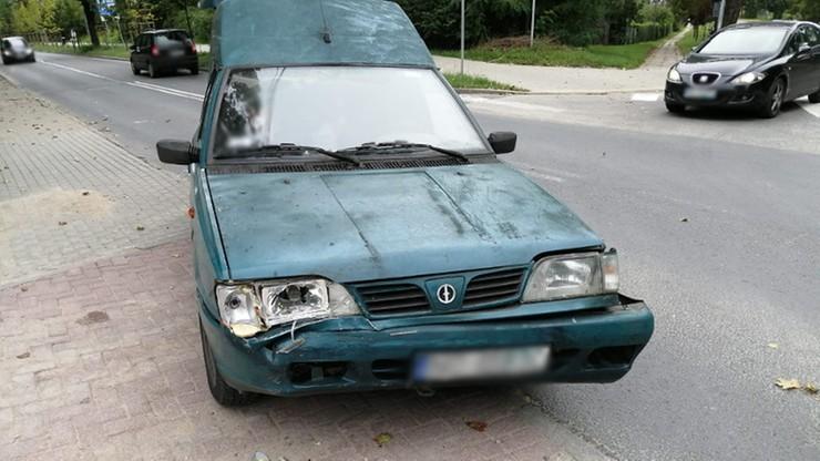 100-letni kierowca spowodował wypadek w Olsztynie
