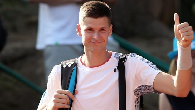 Ranking ATP: Spadek Hurkacza na 48. miejsce, liderem nadal Djokovic