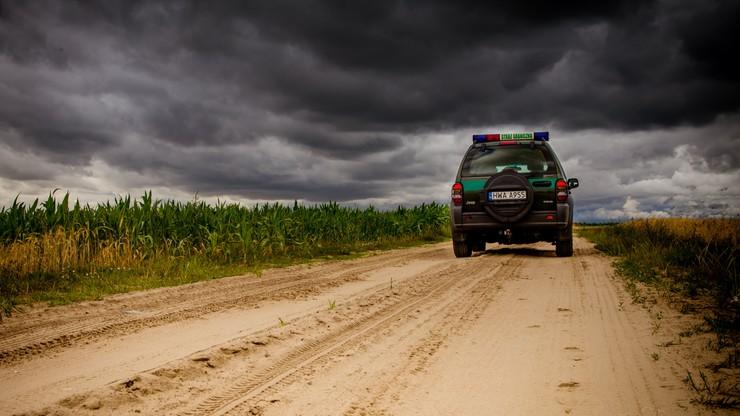 Podlaskie. 12 obywateli Syrii zatrzymanych przy polsko-litewskiej granicy
