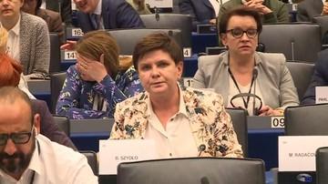 Morawiecki: Beata Szydło sama zdecydowała, żeby nie kandydować w PE po raz trzeci