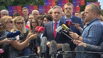 Robert Biedroń nie będzie startował w wyborach. Zostanie szefem sztabu Lewicy