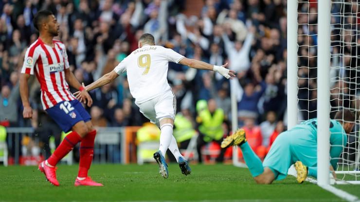 La Liga: Wygrana Realu w derbach Madrytu