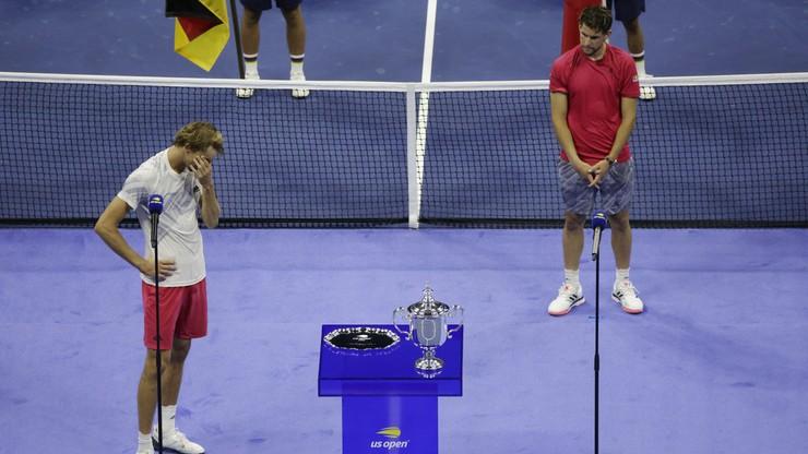 Dominic Thiem po US Open: Żałuję, że dziś nie mogło być dwóch zwycięzców