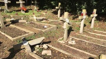 To jednak nie wandale zniszczyli groby polskich bohaterów wojennych na brytyjskim cmentarzu