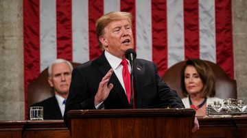 """Nielegalna migracja, walka z AIDS, zakaz """"późnej aborcji"""". Doroczne orędzie Trumpa"""