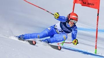 Alpejski PŚ: Wygrana Brignone w supergigancie, Polka daleko