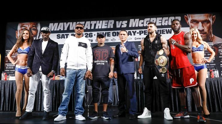 Zanim na ring wyjdą Mayweather i McGregor... Mistrzowie mają głos
