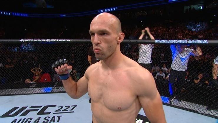 Bartosz Fabiński pożegna się z organizacją UFC?