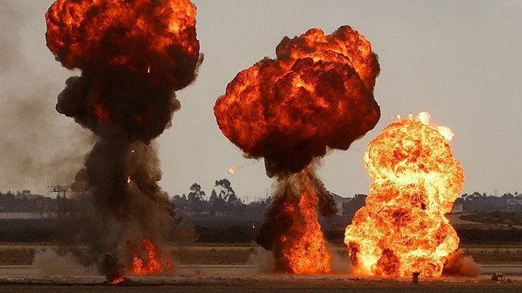 Wybuch na poligonie w Rosji. Zginęło dwóch wojskowych, a pięciu zostało rannych