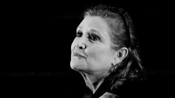 """Carrie Fisher nie żyje - księżniczka Leia z """"Gwiezdnych wojen"""""""