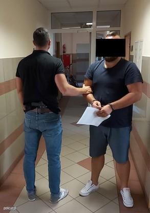 38-latkowi postawiono 9 zarzutów. Miał kraść katalizatory