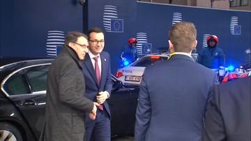 """""""Wydarzenia"""": premier Morawiecki jedzie na miniszczyt ws. uchodźców"""