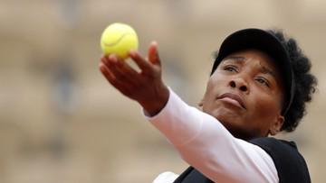 French Open: Venus Williams trzeci raz z rzędu odpadła w pierwszej rundzie