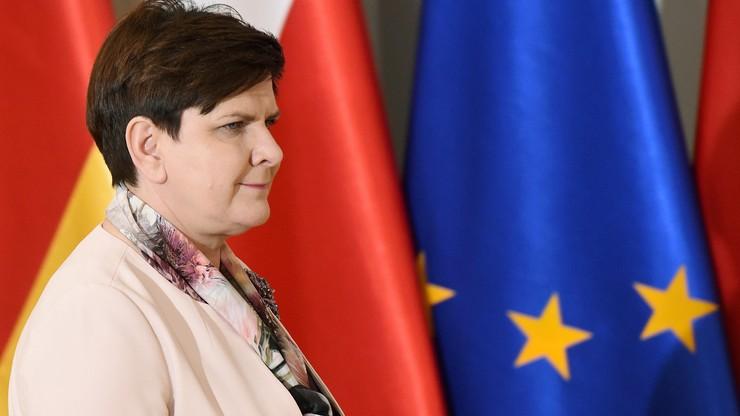 Premier: Polska jest i będzie w UE, opozycja niech nie histeryzuje