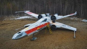 Miłośnicy Gwiezdnych Wojen stworzyli naturalnej wielkości model X-Winga