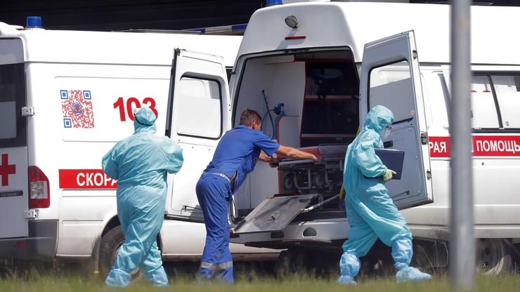 Rosja. 17 906 zakażeń koronawirusem. Najwięcej od stycznia