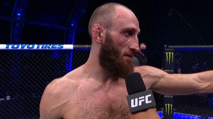 UFC Fight Night 180. Szczere słowa Gurama Kutateladze: To Gamrot powinien wygrać