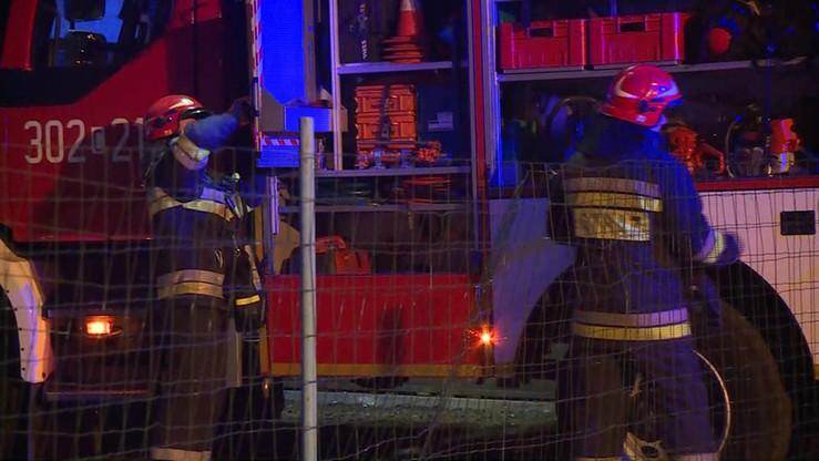 Pożar domu w Warszkowie. Jedna osoba nie żyje