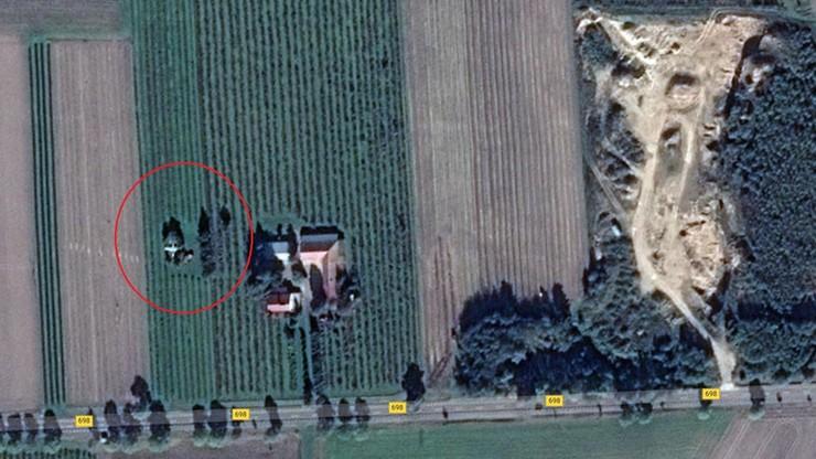 Polski odrzutowiec w zagajniku. Niesamowite zdjęcie z drona