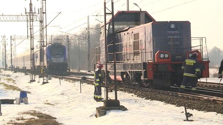 Grodzisko Dolne. Pociąg PKP Intercity zderzył się z lokomotywą. Są ranni