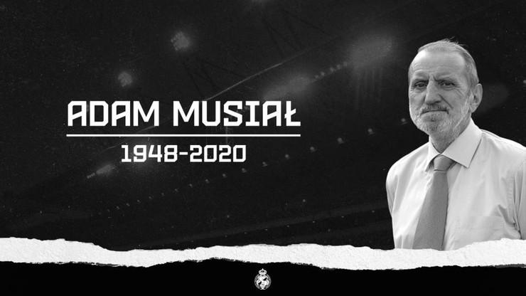 Nie żyje Adam Musiał, były reprezentant Polski w piłce nożnej