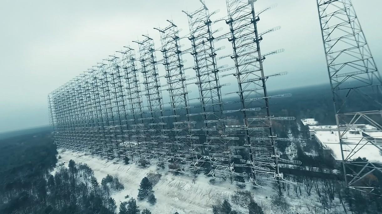 Zobacz niesamowity film z Czarnobyla i okolic wykonany za pomocą sportowego drona [FILM]