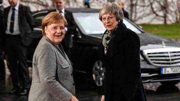 Merkel wyklucza ponowne negocjacje ws. umowy o Brexicie