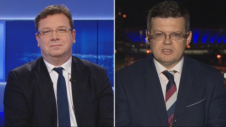 """""""Póki będzie rząd Zjednoczonej Prawicy, nigdy nie zegniemy karku"""". Wójcik w Polsat News"""