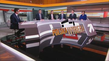"""Rozmowa """"o pieniądzach"""" - debata wyborcza w Polsat News"""