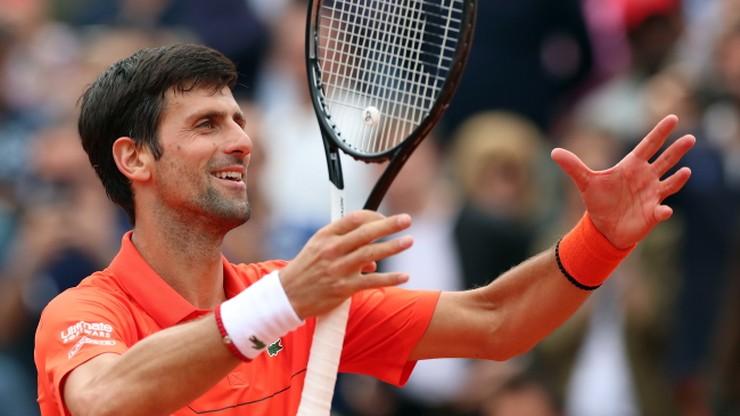 French Open: Djokovic w trzeciej rundzie