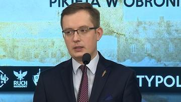 Winnicki: odstępujemy od organizacji pikiety przed ambasadą Izraela
