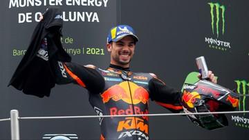 MotoGP: Miguel Oliveira wygrał w Barcelonie