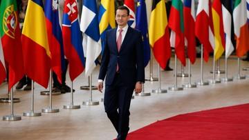 """Premier Morawiecki w Brukseli. """"Potrzebujemy mocnej i bardziej solidarnej Europy"""""""