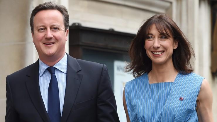 Premier David Cameron zagłosował w referendum ws. Brexitu