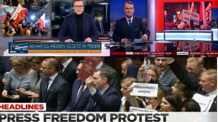 Zagraniczne media o Polsce: największy kryzys parlamentarny od lat