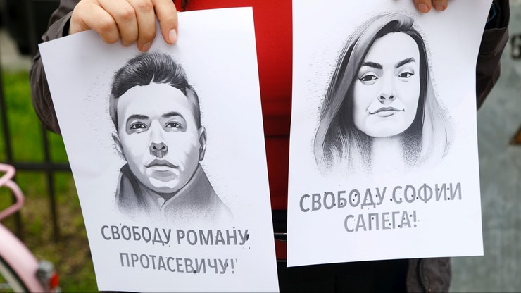 """Nagranie dziewczyny Pratasiewicza z aresztu. """"Powtarza, co jej powiedziano"""""""