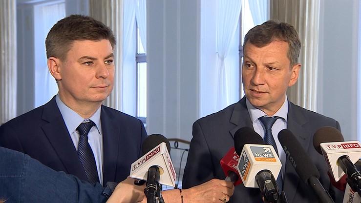 PO żąda wyjaśnień od Błaszczaka ws. zarzutów dla uczestników protestu 16 grudnia