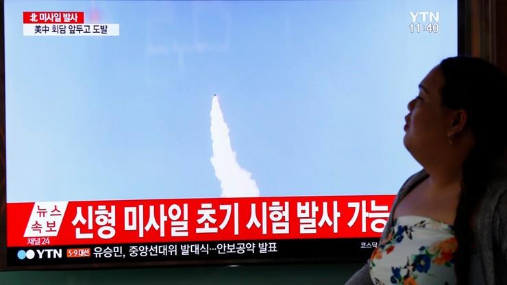 Korea Płd. przetestowała pocisk balistyczny, który może dosięgnąć Koreę Płn.