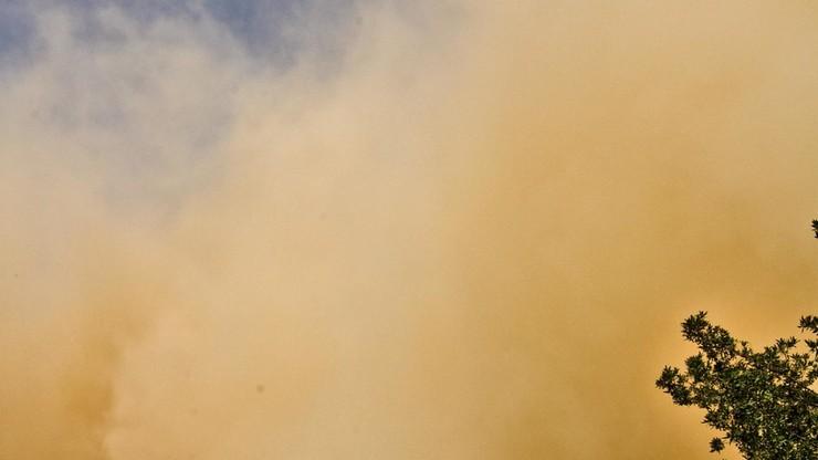 Burza piaskowa nad Kijowem
