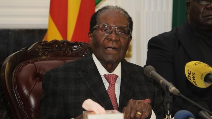 Reuters: były prezydent Zimbabwe z gwarancją immunitetu i bezpieczeństwa