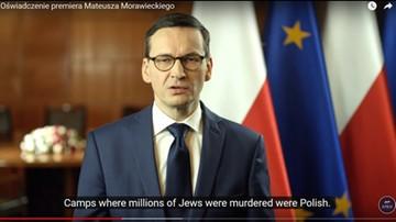 YouTube przeprosił za błędy w tłumaczeniu wystąpienia premiera Morawieckiego ws. noweli o IPN
